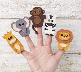 zodiac finger puppet