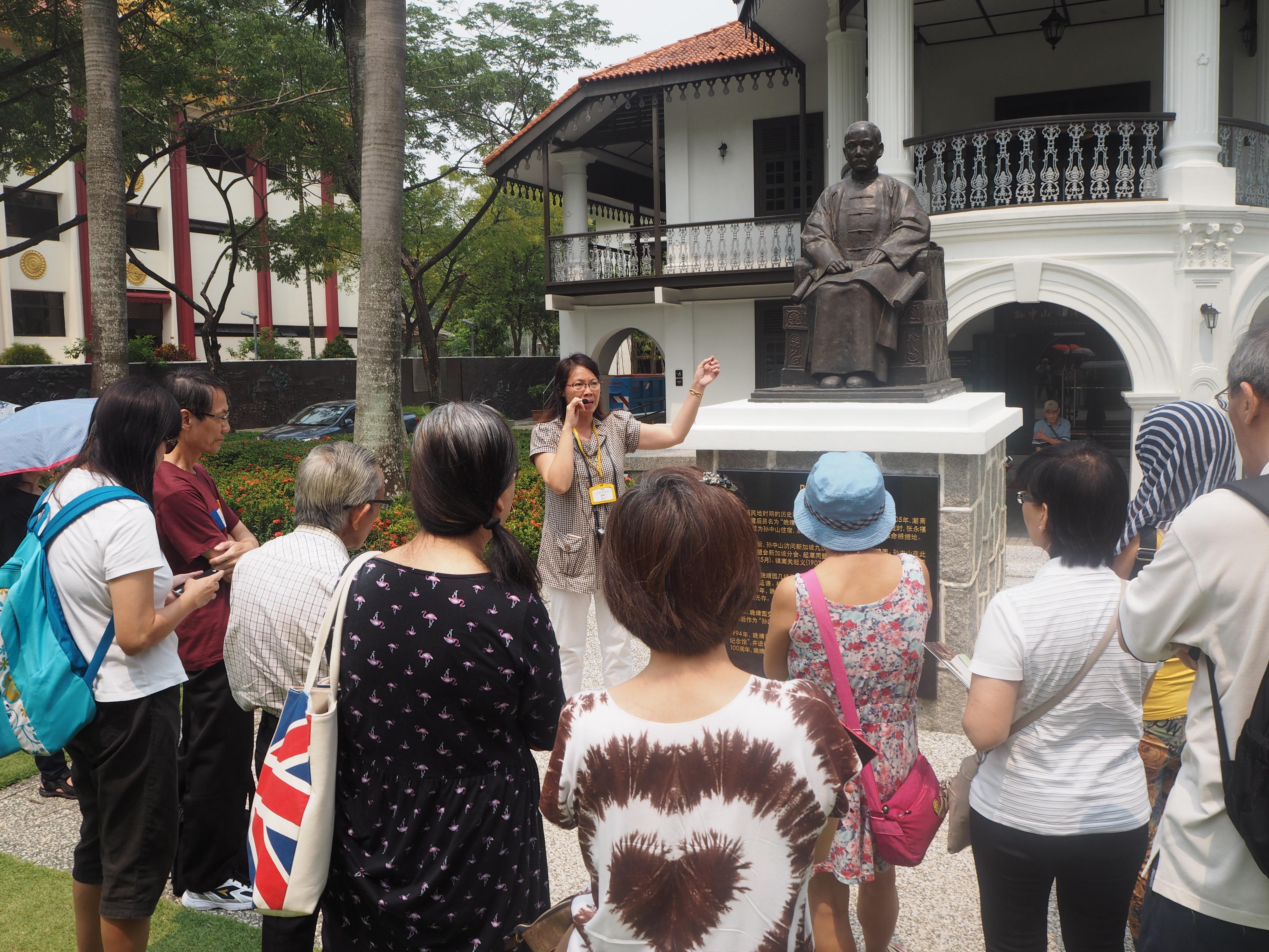 wan qing dumpling festival Monument Tour
